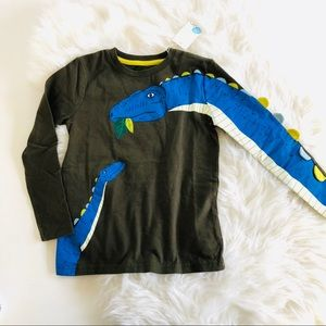 NWT Mini Boden Dinosaur T-Shirt